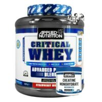 Applied Nutrition Critical Whey Protein 2.2kg & Creatine 250g Lean Strength