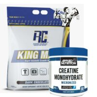 Ronnie Coleman King Mass Lean Whey Weight Gainer 15lb, Creatine 250g