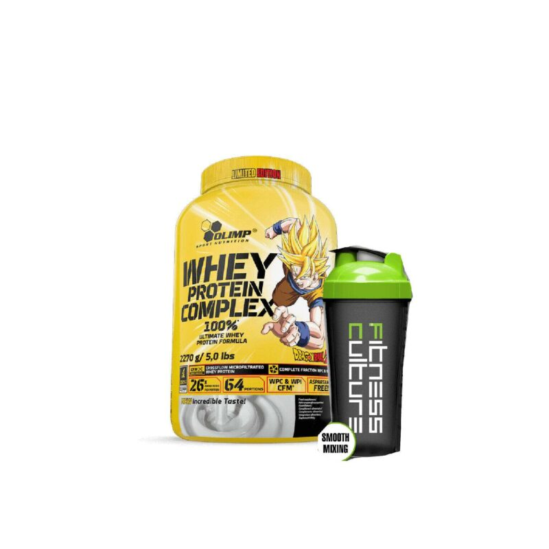 OLIMP WHEY PROTEIN COMPLEX 100% DRAGON BALL Z LIMITED EDITION,SHAKER!