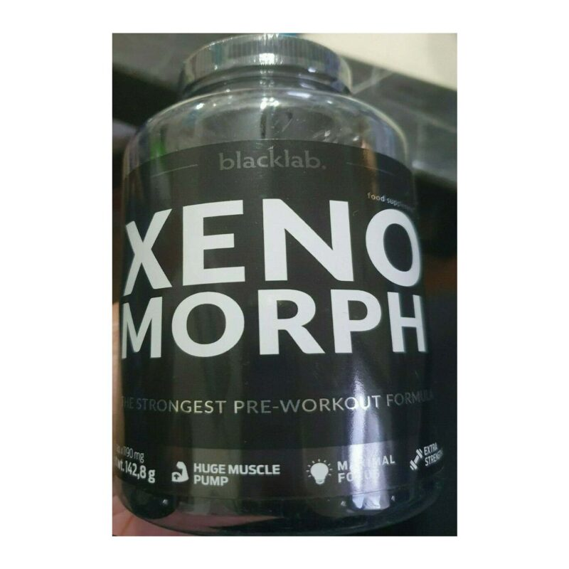 Blacklab Xeno morph EXTREME Pre Workout Nitric Oxide Booster 120 Capsules