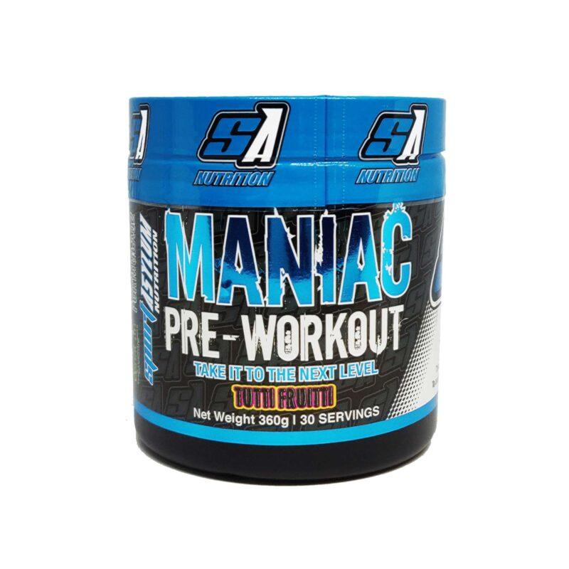 Maniac pre workout energy focus Offer due to expiry 12/2020