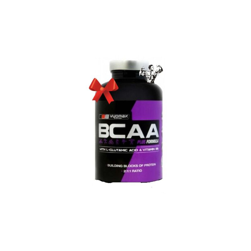 VYOMAX Nutrition BCAA PLUS 240 Branched Chain Amino Acids (BCAA)