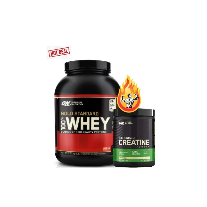 On gold standard and 317g creatine