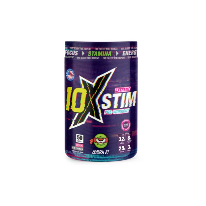 10x Athletic Pre Workout Extreme Stim 50 scoops!