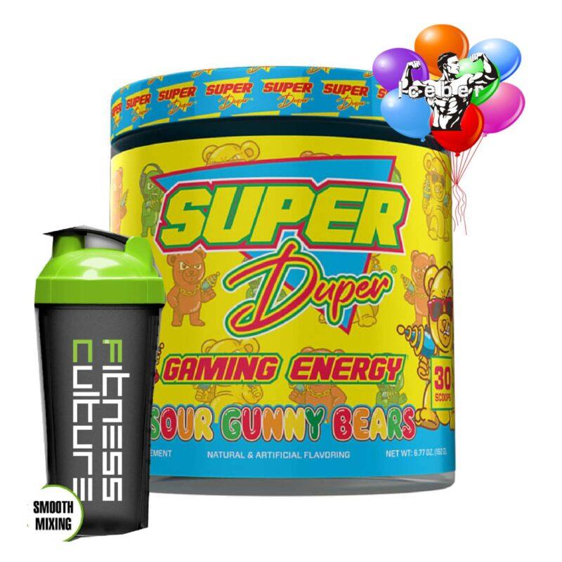 Super Duper Gaming Energy Drink - 180g - 30 Serve