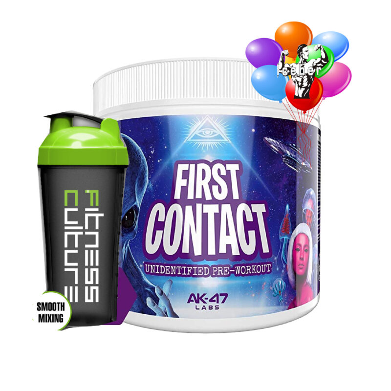 AK-47 Labs First Contact Pre - Workout 240g And SHAKER!