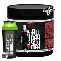 RICH PIANA 5% NUTRITION ALL DAY YOU MAY - 30 SERVINGS & Shaker