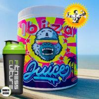 Gorillalpha Ibiza Juice 480g Pre Workout AND SHAKER!