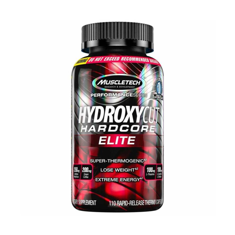 Muscletech Hydroxycut Hardcore Elite Super Thermogenic, Strong Weigh Fat Burner