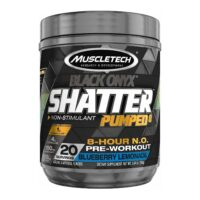 MuscleTech Shatter Black Onyx Pumped 8 hour N.O. Pre Workout!