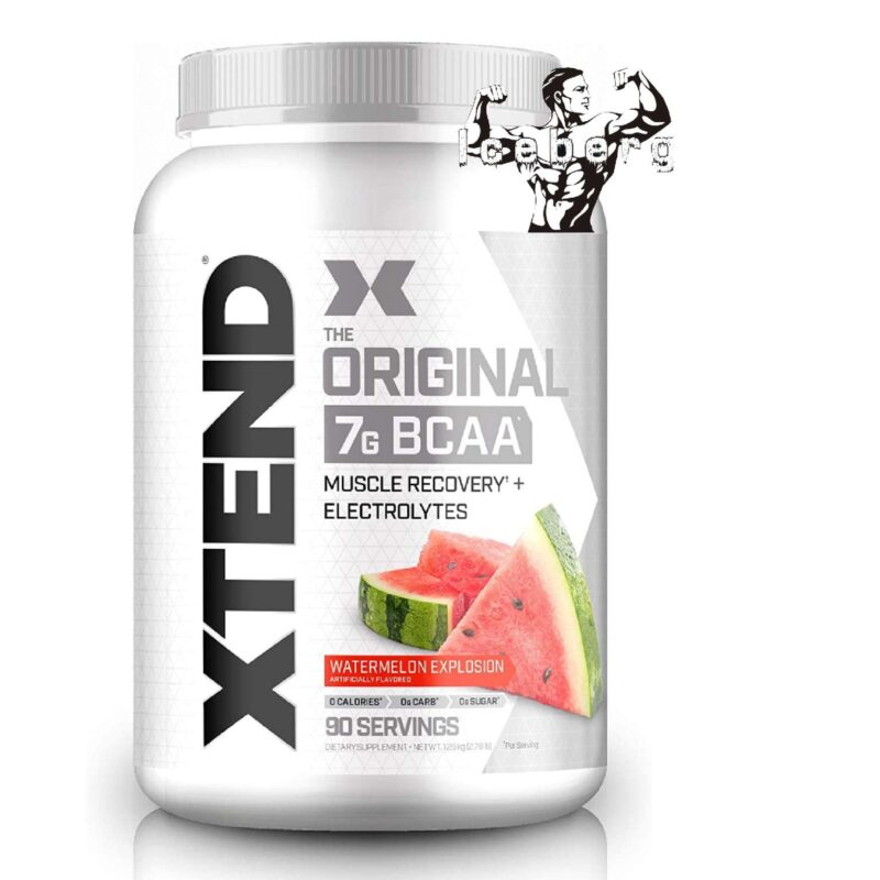Scivation Xtend BCAA Amino Acid Glutamine Powder 90 Servings Intra Workout