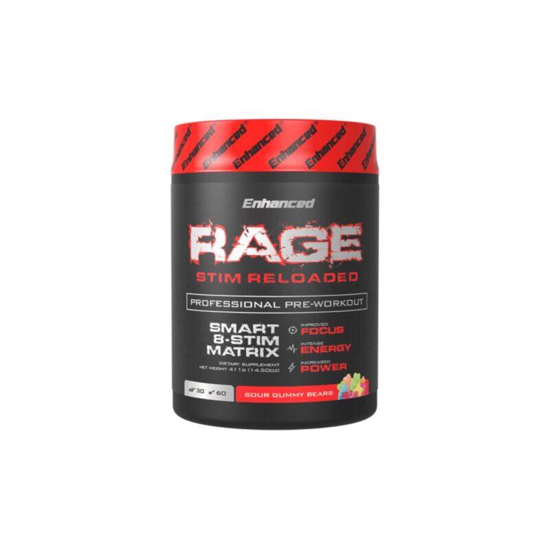 Enhanced Labs Rage Stim Reloaded Professional Pre Workout
