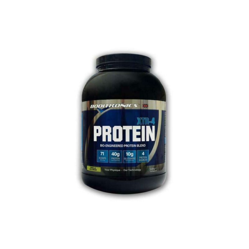 Boditronics Express Protein Blend XTR-4 Casein,Egg,Whey And Soy Protein.