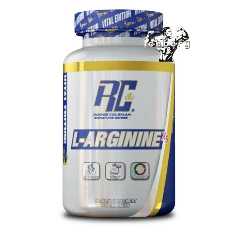L-arginine-xs Stim Free Pre Workout Nitric Oxide Booster Capsules, 100 caps