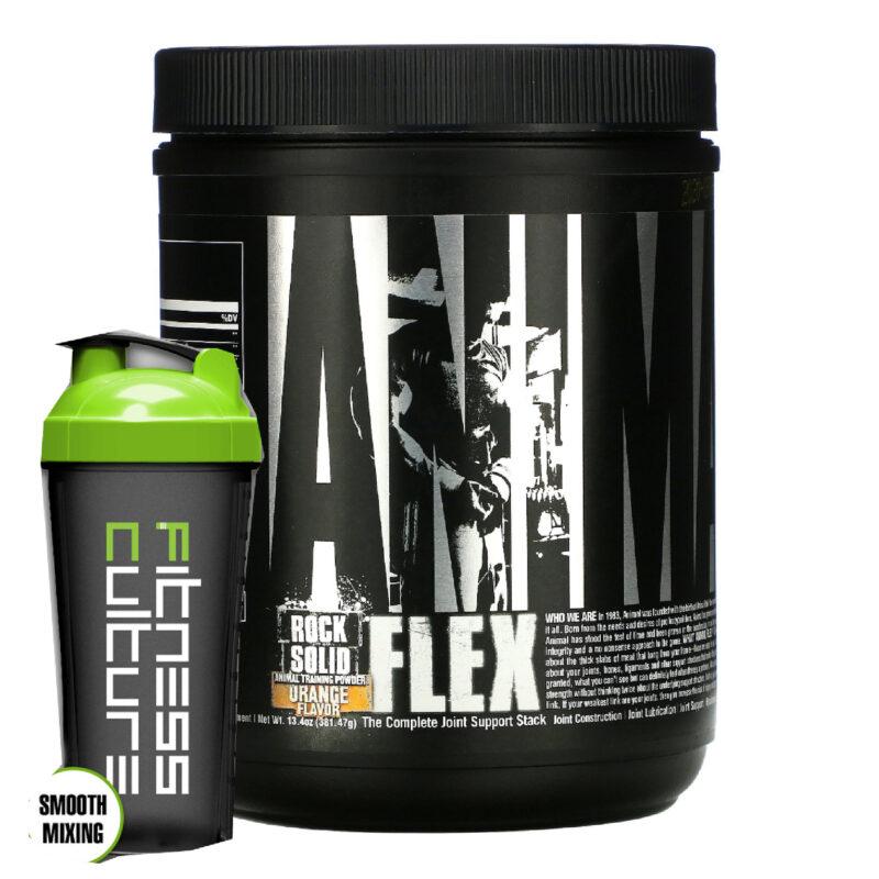 Universal Animal Flex Powder 381g Complete Joint Support, Shaker
