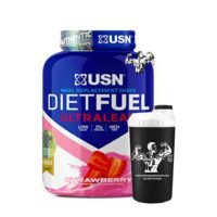 USN Diet Fuel Ultralean Fat Burner Lean Muscle 2kg And Shaker