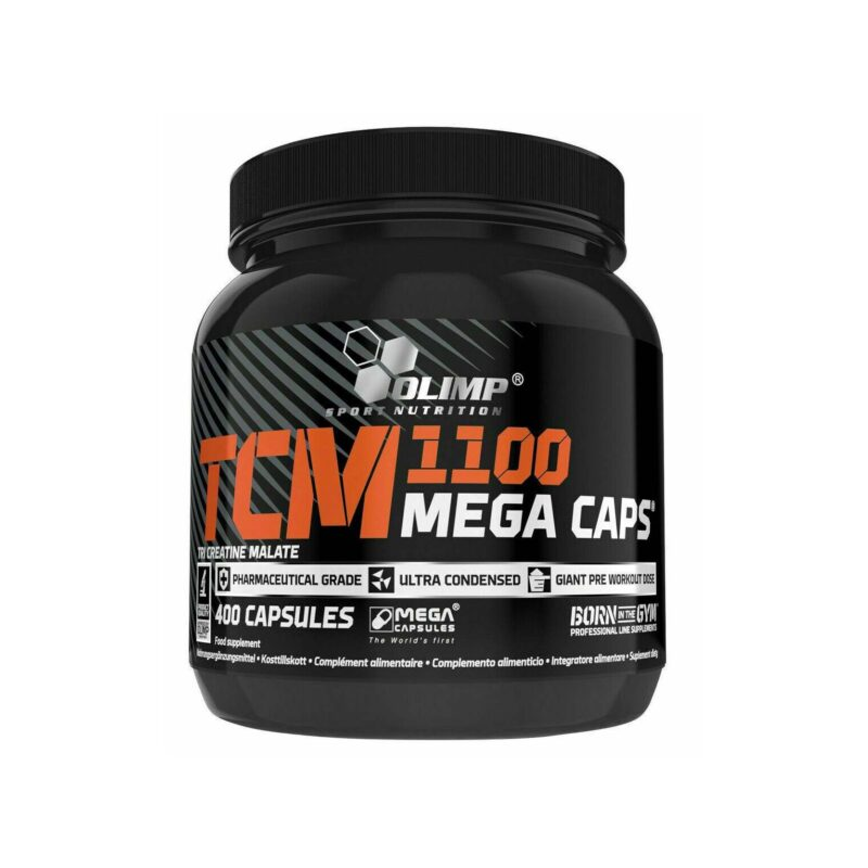 Olimp Nutrition TCM 1100 Mega Caps Creatine Support Muscle Building 400 Caps