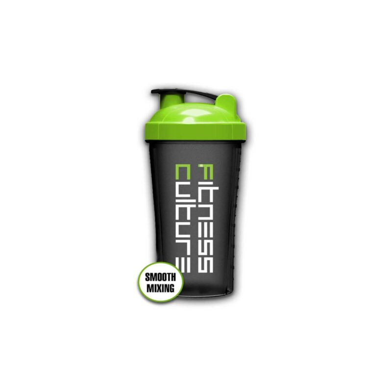 Fitness Culture Shaker 700ml Clear Plastic Protein Mixer
