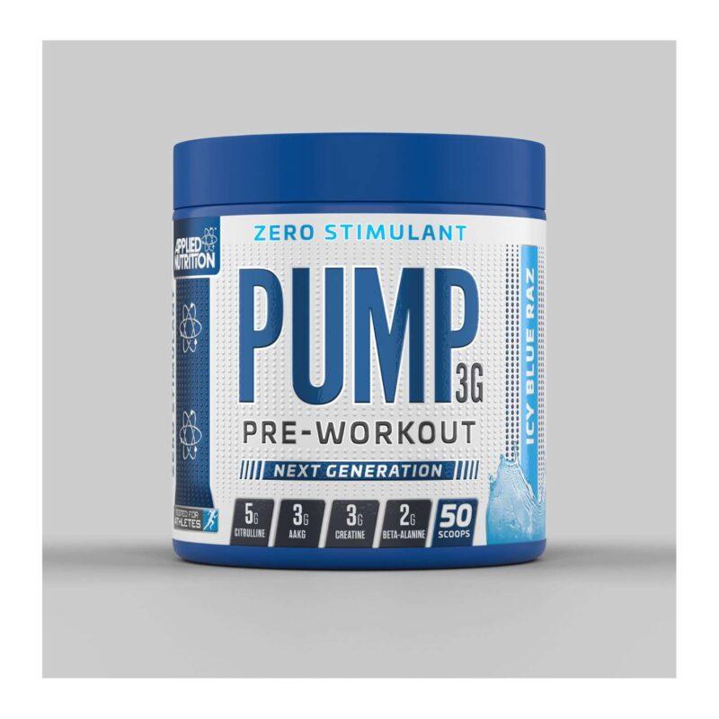 Applied Nutrition Pump 3G ZERO STIMULANT Pre Workout 375g
