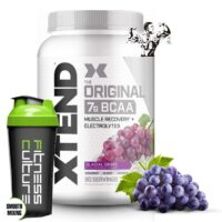 Scivation Xtend Intra Workout BCAA Amazing Grape Flavour And SHAKER!!