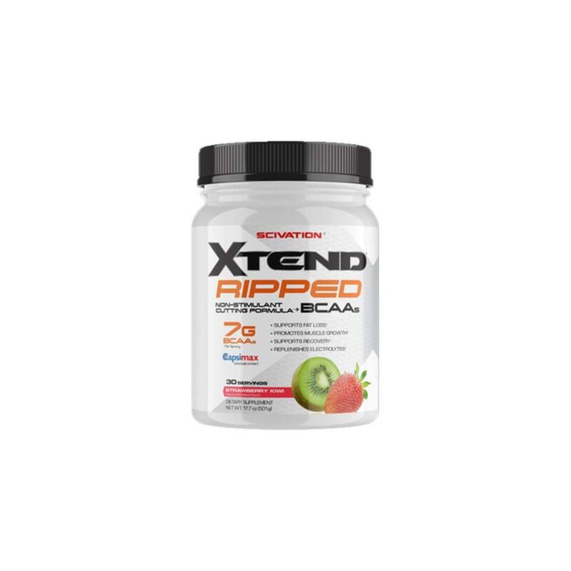 Scivation Xtend Ripped Muscle Recovery Fat Burning 7G BCAA 495g