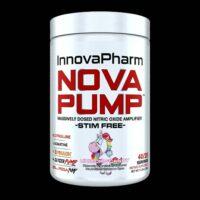 InnovaPharm Nova Pump Pre-Workout 302g Stim Free Nitric Oxide