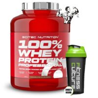 Scitec Nutrition 100% Whey Protein Professional 2.3kg And FREE SHAKER!!!