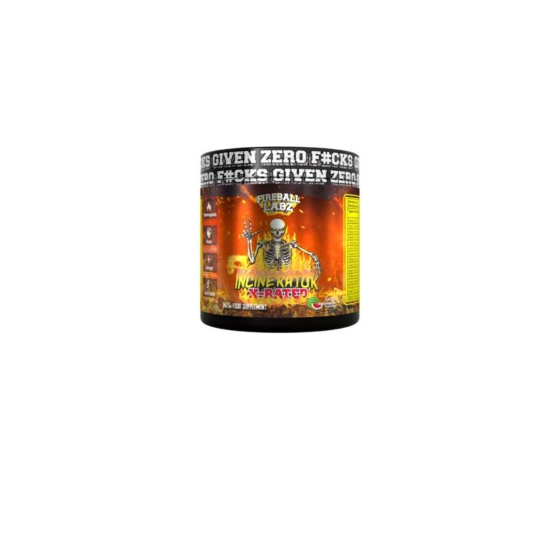 Fireball Labz Incinerator X-Rated 165g Fat Burning Pre Workout