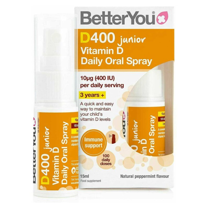 Better You DLux Junior Daily Vitamin D Oral Spray - 15 ml