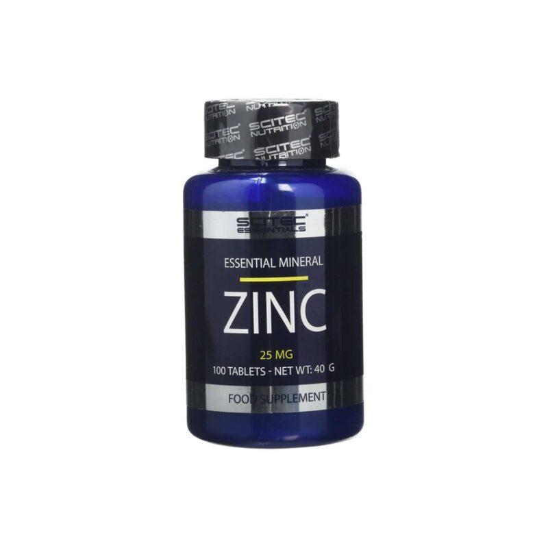 Scitec Nutrition Zinc, 25mg - 100 tablets