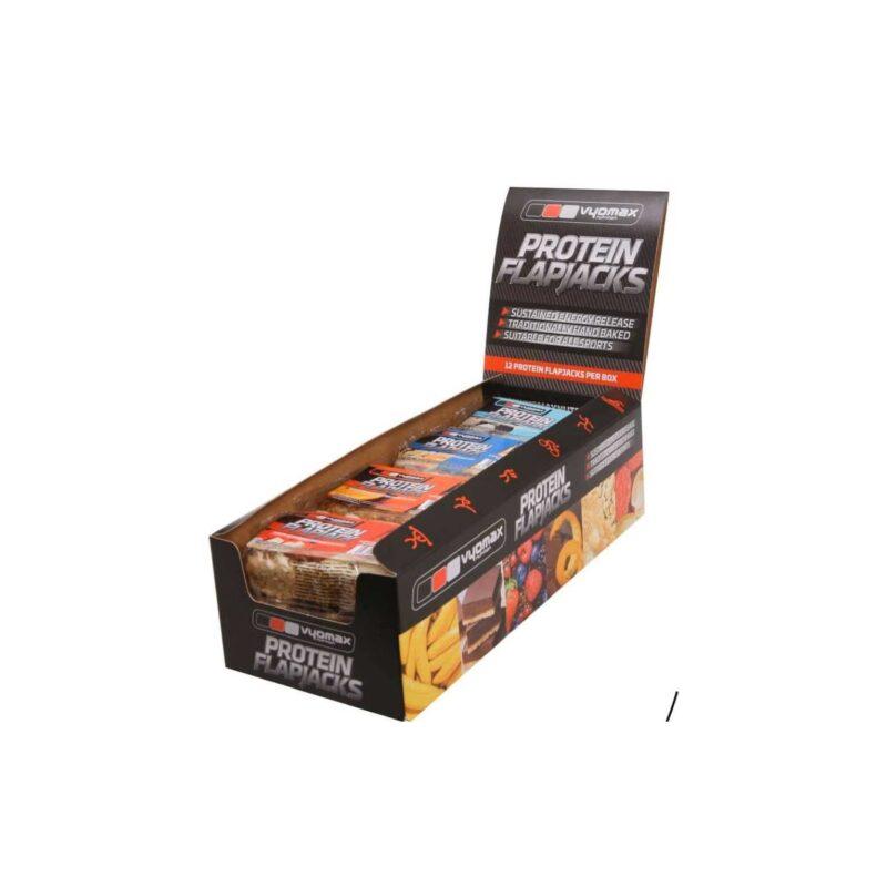 Vyomax Nutrition® High Protein Flapjacks (Box of 12)